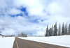 The road through Cedar Breaks national monument.