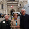 In front of Westminster Cathedral May 2008