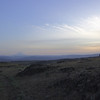 Horsethief Butte.  Closer to sunset, looking west toward Mount Hood.