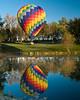hot air balloon, Galena, IL, October, 2007; 8x10