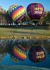 hot air balloon, Galena, IL, October, 2007; 5x7