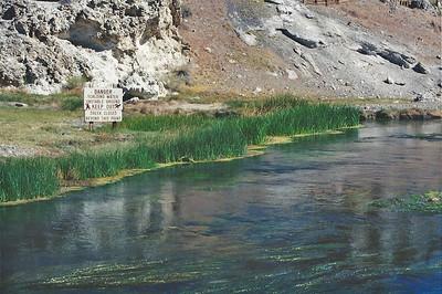7/6/02 Hot Creek Geologic Site, Long Valley, Mammoth Region, Eastern Sierras, Mono County, CA