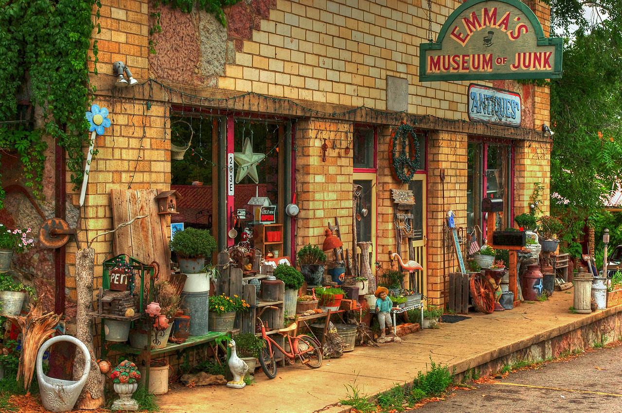 Emma's Museum of Junk, Hwy 7, Jasper, Arkansas. Aug 2, 2012