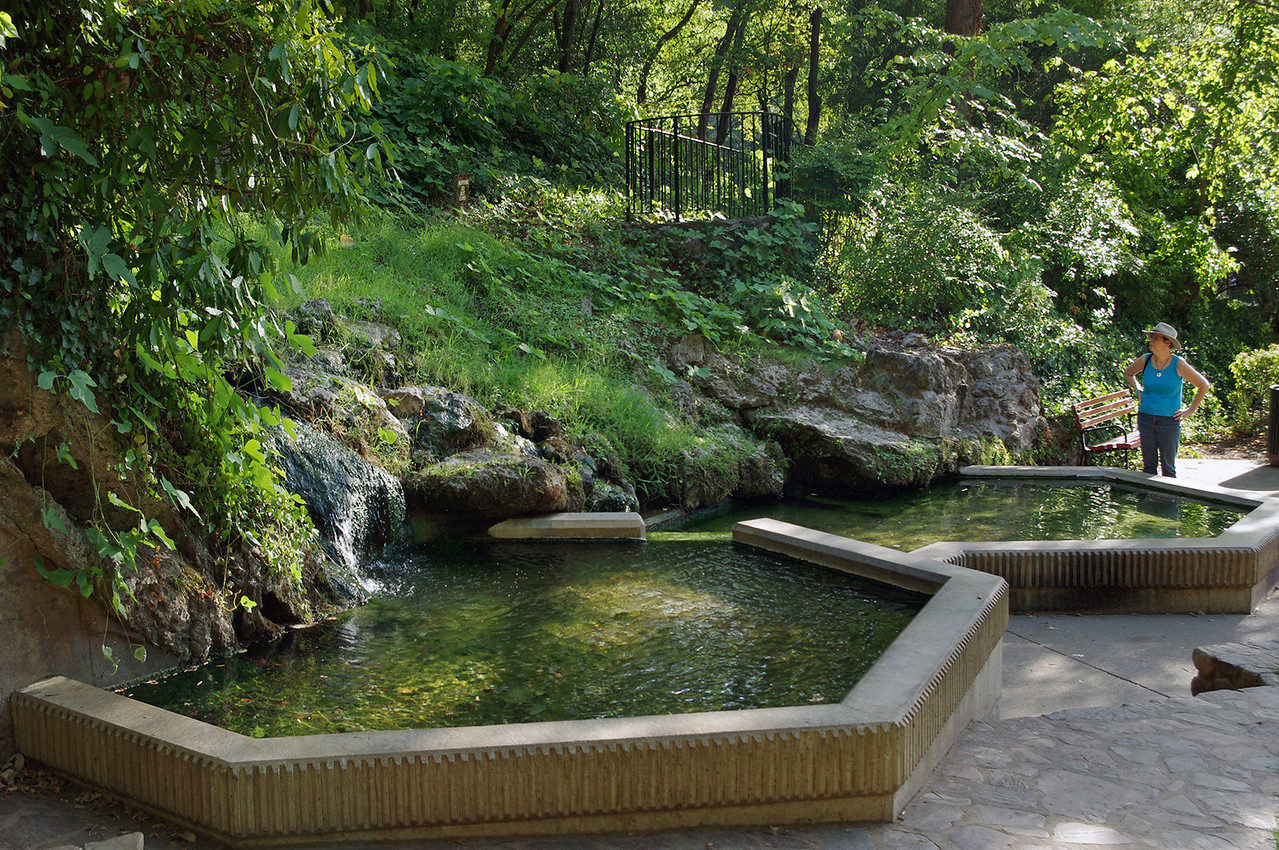 Hot spring, Hot Springs, Arkansas.
