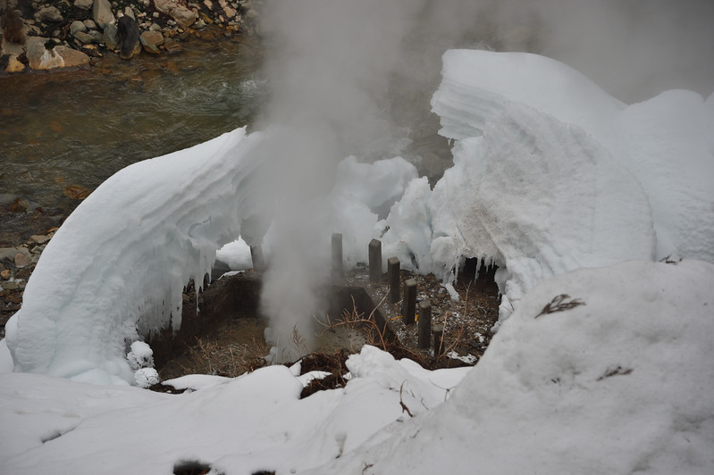 Steam geyser