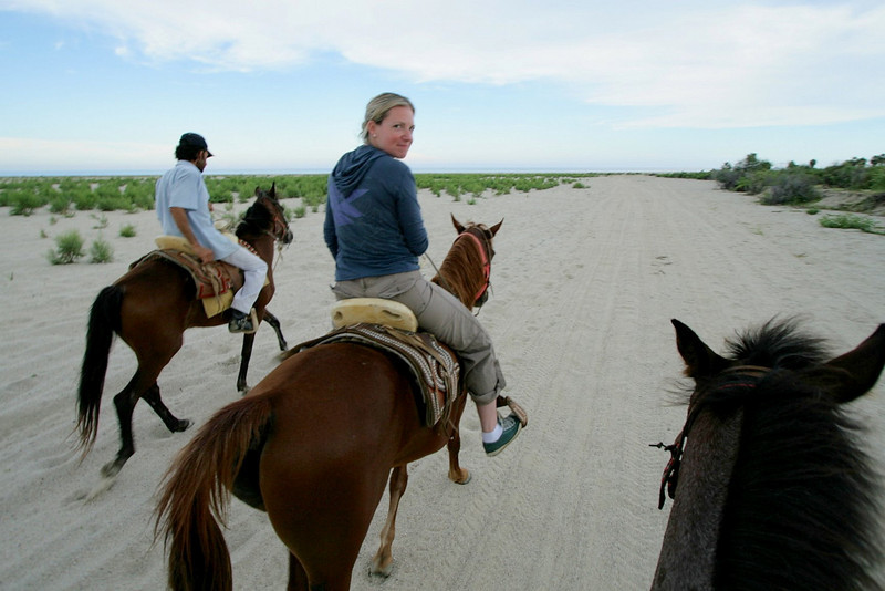 Horseback riding along the beach is a great experience. I recommend waiting until the late afternoon before heading out, when things cool down a bit.