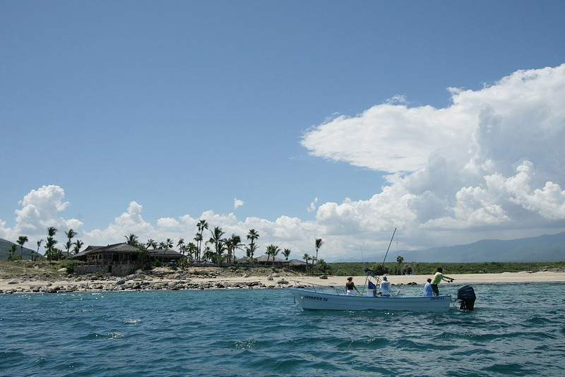 The East Cape area is great for Fly Fisherman because of light wind and clear water.