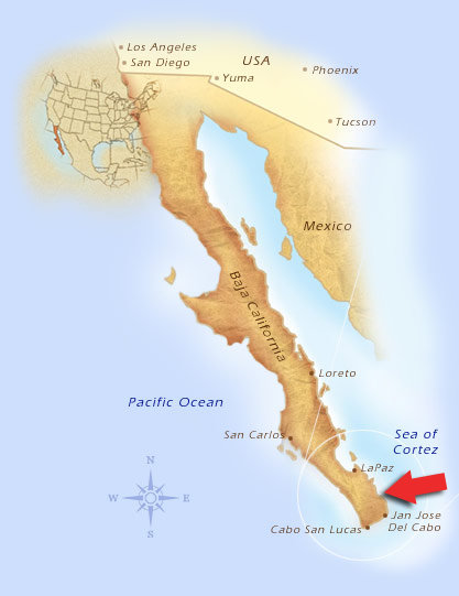 The Hotel Buena Vista Beach Resort is located near the bottom of the Baja California Peninsula. Only 45 Minutes from the Los Cabos Airport.