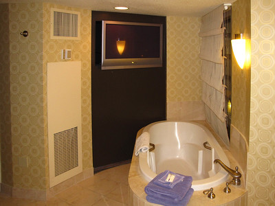 Our suite at Planet Hollywood Casino and Resort.