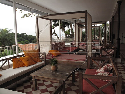 Views of the Santa Tereza Hotel, in the Nieghborhood with the same name in Rio de Janeiro. (Australfoto/Douglas Engle)