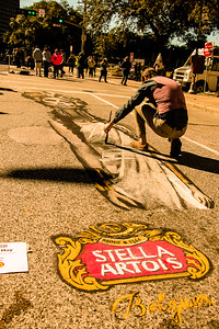 Street Painting Festival in Houston
