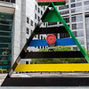 Sculpture by Miro, outside the JP Morgan Chase Tower