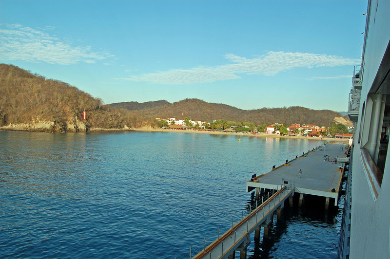 Pier at Huatulco, Mexico