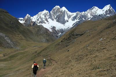 Mt. Jirishanca, east face: 6,094 meters