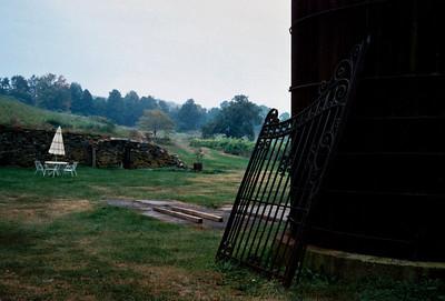 West Park Winery, Hudson Valley, New York state, c.1987