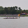 Here is one of the boats making the turn....