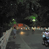 Out in Hue at night...