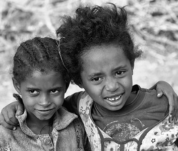 Happy Kids Roadside Ethiopia