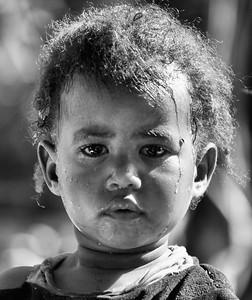 Curious Ethiopian Girl