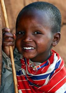 Young Masai Lad Kenya