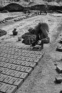 brickmaking India 50cents a day