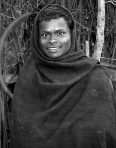 Young man Orissa India