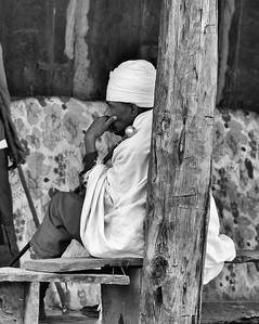 Quiet Priest Ethiopia