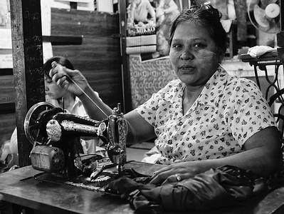 Seamstress Yangon Myanmar