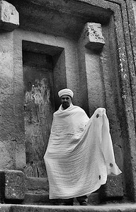 Priest at Lalibella Ethiopia