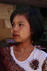 Burmese face art Mtyanmar