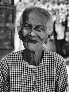Lovely Elderly Lady Myanmar