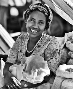 Happy in the Market Ethiopia