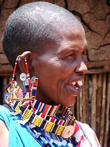 Kenyan Village lady