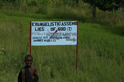Ah Ha! Lies of God! Now we're getting somewhere! (Tanzania, Africa)