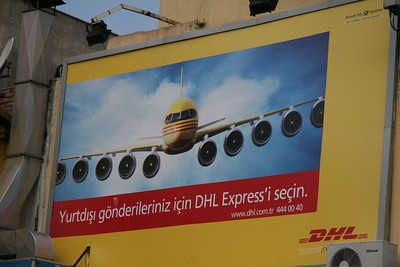 DHL Commercial in Istanbul; as an aerospace engineer I just had to take a picture of this one