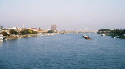 The 5 bridges of Bratislava