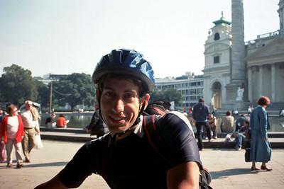Jörg ready for the bike tour