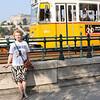 Barbara and tram