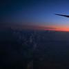Sunrise somewhere over France.