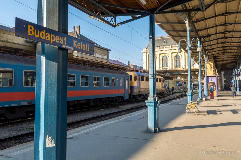 walk around Budapest