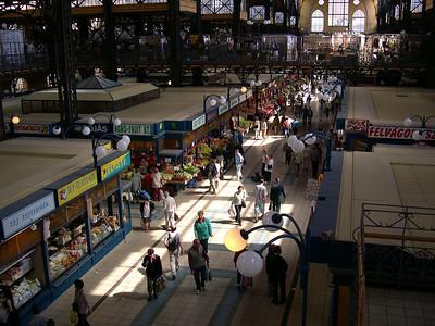 Budapest - maj 2003 The market hall