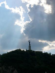 Budapest - maj 2003 Gellert Hill