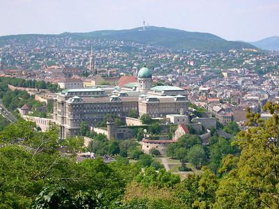 Budapest - maj 2003 Budavari palota