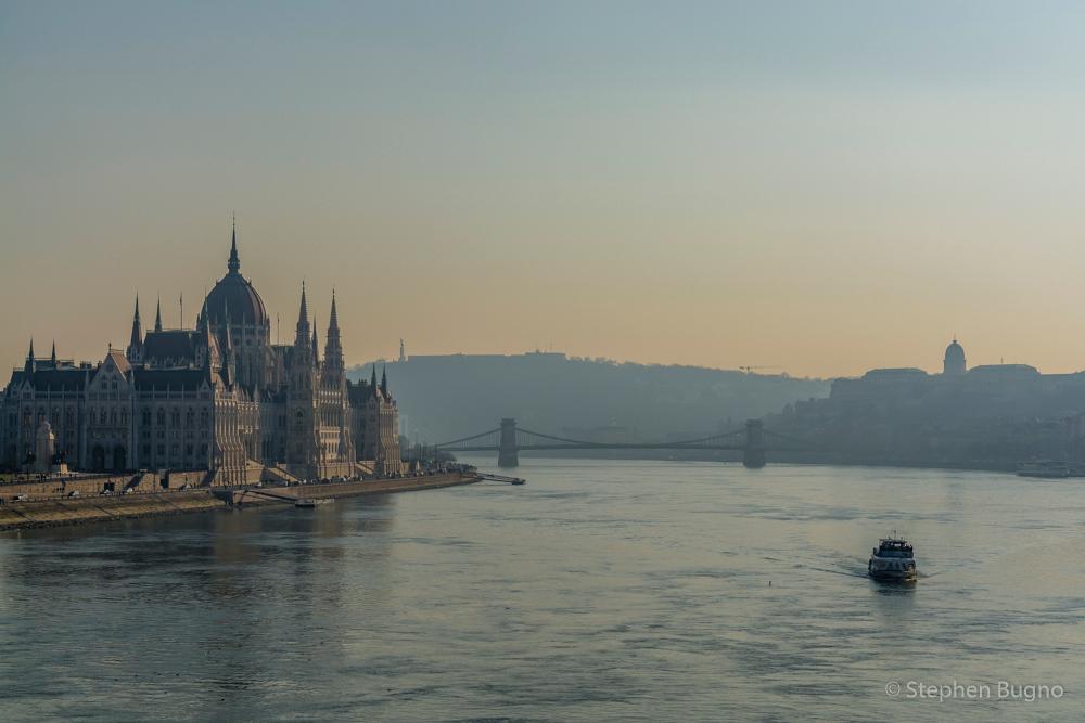 A Walk around Budapest Hungary