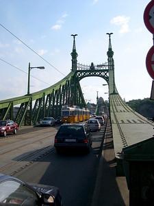 Budapest - maj 2003 Szabadság hid, The Freedom Bridge