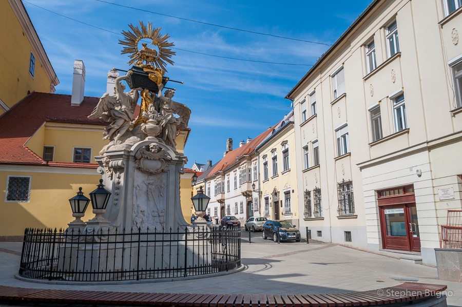 walk around gyor hungary