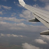 Winging on to Budapest on a KLM flight.