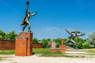 Memento Park, dedicated to monumental statues from Hungary's Communist period.