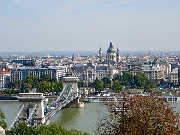View of Pest from Buda Castle Hill
