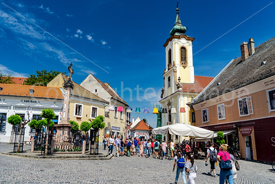Main square in Szentendre
